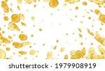 golden coins explosion  vortex. ...   Shutterstock .eps vector #1979908919
