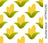 seamless pattern of farm fresh... | Shutterstock .eps vector #197992190