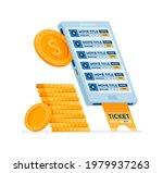 icon design of buy cinema... | Shutterstock .eps vector #1979937263