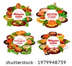 malaysian cuisine round posters ...   Shutterstock .eps vector #1979948759