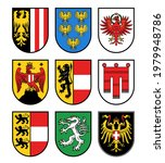 austria regions heraldry ...   Shutterstock .eps vector #1979948786
