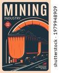 Mining Industry Retro Poster ...