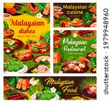 malaysian cuisine posters ...   Shutterstock .eps vector #1979948960