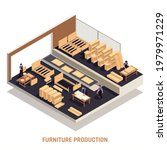 furniture production isolated... | Shutterstock .eps vector #1979971229