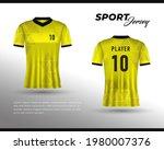 sports racing jersey design....   Shutterstock .eps vector #1980007376