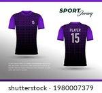 sports racing jersey design....   Shutterstock .eps vector #1980007379