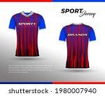 sports racing jersey design....   Shutterstock .eps vector #1980007940