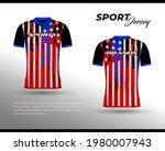 sports racing jersey design....   Shutterstock .eps vector #1980007943