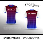 sports racing jersey design....   Shutterstock .eps vector #1980007946