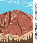 Longs Peak In The Northern...