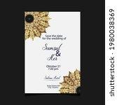 mandala template with elegant ...   Shutterstock .eps vector #1980038369