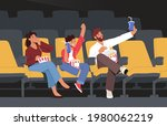 happy family characters...   Shutterstock .eps vector #1980062219