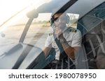 Young Pilot Is Getting In His...
