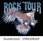 rock festival graphic design...   Shutterstock .eps vector #1980108269