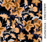 beautiful seamless pattern with ... | Shutterstock . vector #1980159899