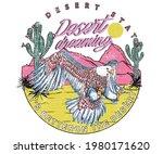 Eagle Desert Dreaming Print...