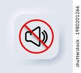 silent mode of smartphone....   Shutterstock .eps vector #1980201266