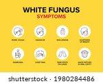 White Fungus Or Fungal Disease...
