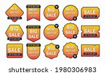 set of sale banner and discount ... | Shutterstock .eps vector #1980306983