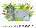 game stone sign board  cartoon...   Shutterstock .eps vector #1980320816