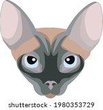 illustration of a sphinx cat.... | Shutterstock .eps vector #1980353729