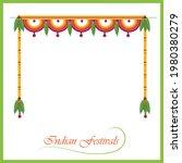 festival garland design vector...   Shutterstock .eps vector #1980380279