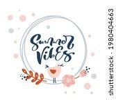 vector poster abstract summery...   Shutterstock .eps vector #1980404663