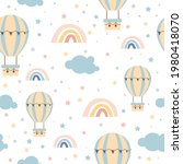 vector seamless pattern with...   Shutterstock .eps vector #1980418070
