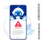digital customer service robot  ...   Shutterstock .eps vector #1980430529