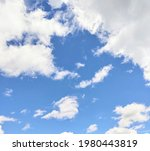 This Image Shows A Sunny Sky...