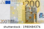 Front Part Of 200 Euro Banknote ...