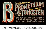 promethium and tungsten is an... | Shutterstock .eps vector #1980538319