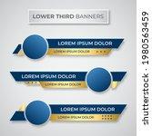 modern geometric lower third... | Shutterstock .eps vector #1980563459