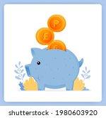 vector illustration of cute... | Shutterstock .eps vector #1980603920