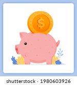 vector illustration of cute... | Shutterstock .eps vector #1980603926
