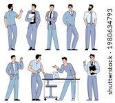 flat design vector cartoon... | Shutterstock .eps vector #1980634793
