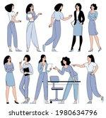 flat design vector cartoon... | Shutterstock .eps vector #1980634796