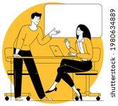 flat design vector cartoon...   Shutterstock .eps vector #1980634889