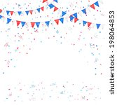 independence day background... | Shutterstock . vector #198064853