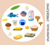 set of vitamin d origin natural ... | Shutterstock .eps vector #1980652940
