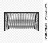 transparent soccer goal icon...