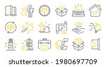 set of industrial icons  such...   Shutterstock .eps vector #1980697709