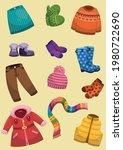vector illustration of children ... | Shutterstock .eps vector #1980722690
