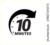 minute timer icons. sign for...   Shutterstock .eps vector #1980724373