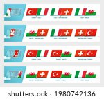 football team games in group a...   Shutterstock .eps vector #1980742136