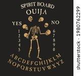 spirit board ouija with...   Shutterstock .eps vector #1980762299