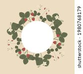 vector color hand drawn round... | Shutterstock .eps vector #1980768179
