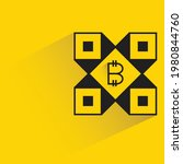 bitcoin concept symbol with... | Shutterstock .eps vector #1980844760