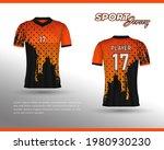 football jersey design. front...   Shutterstock .eps vector #1980930230