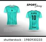 football jersey design. front...   Shutterstock .eps vector #1980930233